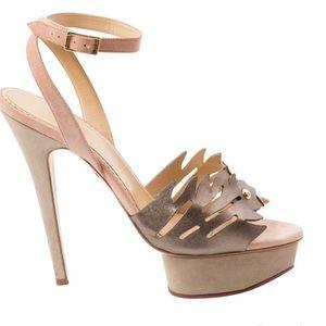 Charlotte Olympia high heel shoe